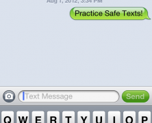 Practice Safe Texts