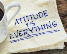 Two Pieces of Attitude Advice for Tuesday