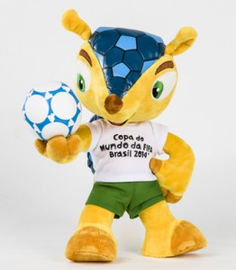 Our Space FIFA World Cup Mascot 2014